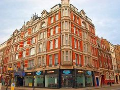 The Shaftesbury Piccadilly, the hotel I stayed in the first and second times I went to London.  Creaky floors and bathrooms down the hall, but very sentimental memories for me.