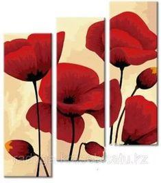 картины маслом на холсте цветы маки: 14 тыс изображений найдено в Яндекс.Картинках