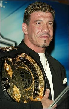 Eddie Guerrero (1967 - 2005) Professional wrestler, former WWE champion