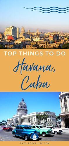 Top Things to Do in Havana, Cuba on a Cruise. Bermuda Vacations, Bahamas Vacation, Caribbean Vacations, Caribbean Cruise, Best Vacations, Cuba Travel, Cruise Travel, Cruise Vacation, Vacation Spots