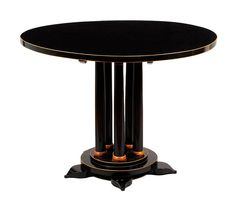 A Biedermeier Pedestal Table | From a unique collection of antique and modern center tables at http://www.1stdibs.com/furniture/tables/center-tables/