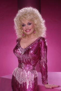 I have always wanted to dress as Dolly Parton for Halloween.
