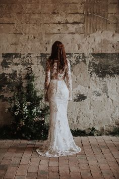 The Debussy gown / Nora Sarman Bridal / photo Pinewood Weddings Bridal Lace, Lace Wedding, Wedding Dresses, Occasion Wear, Golden Age, Gowns, Weddings, Fashion, Valentines Day Weddings