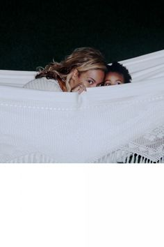 Beyonce And Blue Ivy Play Peekaboo - Beyonce And Jay-Z's Family Album