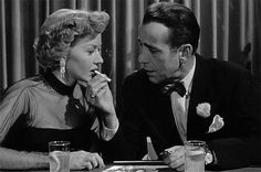 Gloria Grahame and Humphrey Bogart,  In A Lonely Place
