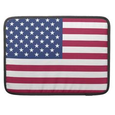 American Flag Macbook Pro Flap Sleeve