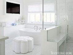 Spa Like Bathroom - Transitional - bathroom - Traditional Home