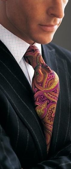 men's tie  - Paisley