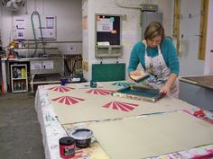 Tips for Screenprinting on Fabric