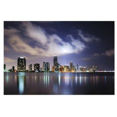 Miami by Night Semi-Gloss Wallpaper Roll East Urban Home Size: x Material quality: Standard Geometric Wallpaper Murals, Wallpaper Panels, Wallpaper Roll, Photo Wallpaper, Wall Wallpaper, Miami, Vintage Library, Tile Panels, Design Repeats