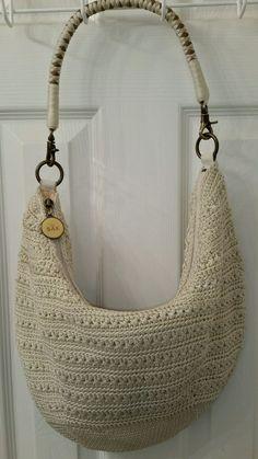 The Sak Bolsa de ombro hobo marfim off white Crochê Tricô Alça Trançada | Roupas, calçados e acessórios, Bolsas e sacolas femininas, Bolsas | eBay!