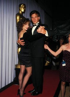 Dirty Dancing reunion Patrick Swayze and Jennifer Grey (how fantastic do they look) Donald Sutherland, Best Actress, Best Actor, Grace Kelly, I Movie, Movie Stars, Gq, Jennifer Grey, Idole