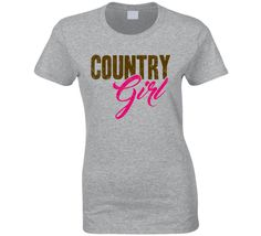 Country Girl Shake It For Me Luke Bryan Country Music Love Concert Fan T Shirt