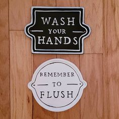 Wall Sign Remember to Flush White - Hearth & Hand™ with Magnolia Wall Signs, Hearth, Magnolia, Bathroom, Instagram, Wall Plaques, Log Burner, Washroom, Home
