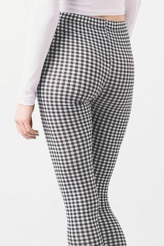 GINGHAM Print Leggings | Shopping & Fashion | Need That Look Print Leggings, Gingham, That Look, Trousers, Suits, Shopping, Fashion, Plaid, Trouser Pants
