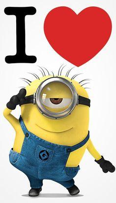 Aaaaahhhww... Minions got to love them