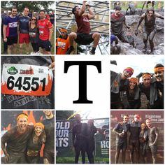 T is for Tough Mudder! I know I've already posted for T but we have so many date ideas it's no doubt they'll overlap! Tough Mudder was HARD! However we managed to raise £200 for our local homeless shelter and had a pretty unique date day anyway! 😂👫🏃🏽♀️🏃🏻 #AlphabetDating