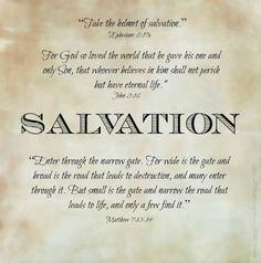 Armor of God Graphic Helmet of Salvation