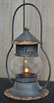 Rustic Railroad Style Lantern Black Country Rustic Lighting by H. Lamp, Candle Lanterns, Rustic Lighting, Vintage Lamps, Rustic Porch, Vintage Lanterns, Oil Lamps, Lantern Lights, Barn Lighting