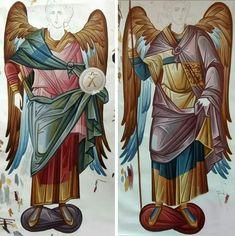 Byzantine Art, Byzantine Icons, Orthodox Icons, Religious Art, Style Icons, Princess Zelda, Drawings, Painting, Fictional Characters