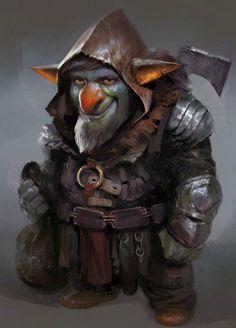 Goblin, Yuan Cui on ArtStation at https://www.artstation.com/artwork/ZbQzX