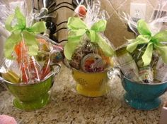Gift basket/prize idea for guests