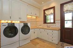 4321 Chula Senda Lane, La Canada Flintridge-Downstairs Laundry Room