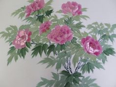 きもの カンタービレ♪ - beautiful peony obi, would make a fabulous embroidery