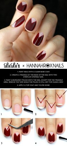 Burgundy-Chevron-Half-Moon-Nail-Tutorial.jpg 763×1,653 pixels