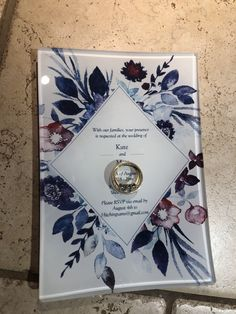 What better place to keep your rings when they are not on your fingers? How about a glass tray with YOUR wedding invitation. Check out our website for more wedding related personalized glass! Elegant Home Decor, Elegant Homes, Photo Memories, Glass Tray, Home Decor Items, Save The Date, Fingers, Rsvp, Wedding Gifts
