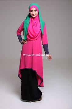 High low dress worn with skirt DREEMIKA.COM ::