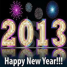 Happy New Year to all my Pinning friends!! May 2013 bring you much joy, happiness and good health. God bless all of you!! <3