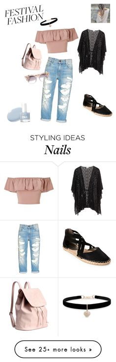 """""""festival queen"""" by queenbee2301 on Polyvore featuring Miss Selfridge, Betsey Johnson, Kenneth Cole Reaction and Jimmy Choo"""