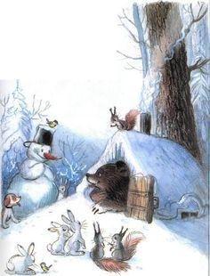 Ёлка (иллюстрации: Сутеев В.)