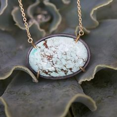 New one of a kinds up on the site! #mixedmetals #oxidizedsilver #lovegold #turquoise #madeinaustin #futureheirloom