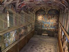 Visit & learn about where the Pope is chosen and the art of the Sistine Chapel in Vatican City online with the unique - Sistine Chapel 3D. Click to start!