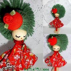 Broche De Muñeca/ Doll Brooch from Picsity.com