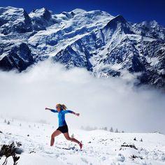 Laurie Renoton, Mont Blanc Aiguillette des houches #TrailRunning #SkyRunning https://instagram.com/p/2vORMmonck/