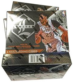 2015/16 Panini Limited Basketball Hobby Box by Panini. 2015/16 Panini Limited Basketball Hobby Box.
