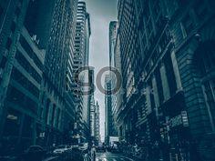 Skyscrapers-crowd