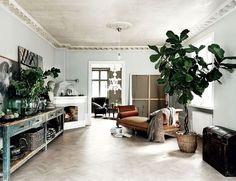 Inside an Interior Designer and Model's Beautiful Swedish Home | MyDomaine