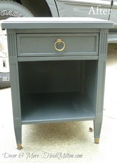 Hometalk :: DIY Annie Sloan Graphite Furniture Makeovers