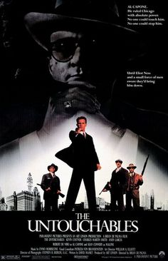 THE UNTOUCHABLES--Connery rocks this one!