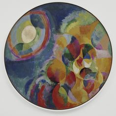 Robert Delaunay (French, Simultaneous Contrasts: Sun and Moon Paris, 1913 (dated on painting Oil on canvas Sonia Delaunay, Robert Delaunay, Social Art, Georges Braque, Art Abstrait, Illustrations, Museum Of Modern Art, French Artists, Op Art