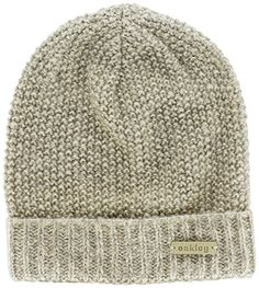 Oakley Womens Lima Beanie Wood Grey Size 0 >>> You can find more details by visiting the image link.(This is an Amazon affiliate link)
