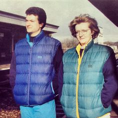 #MountainEquipment Lightline Vest from Winter 1993! Love the colours :)