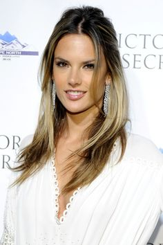 Alessandra Ambrosio - LOVE her hair!