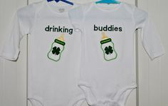 @Sara Foster Our boys need these. We can order them without the shamrocks. :)