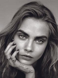 Cara Delevingne photographed by Alasdair McLellan for Vogue UK January 2014