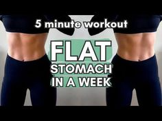 Everyday Ab Workout, One Week Workout, 5 Minute Abs Workout, Workout For Flat Stomach, Abs Workout Routines, Stomach Workouts, Workout Men, Flat Abs, One Week Abs